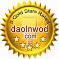 Awarded 5 stars on Daolnwod.com